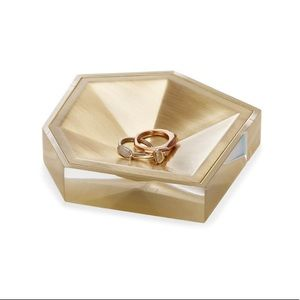 Kendra Scott faceted ring dish